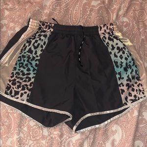 Reflective Victoria's Secret jogging shorts